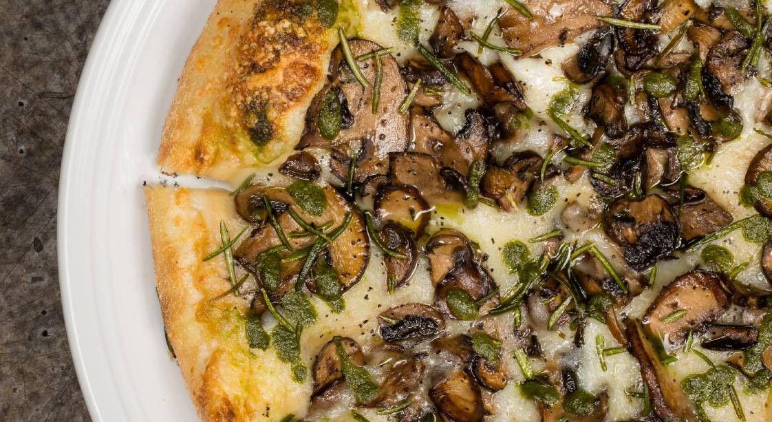 Mean Mushroom Pizza