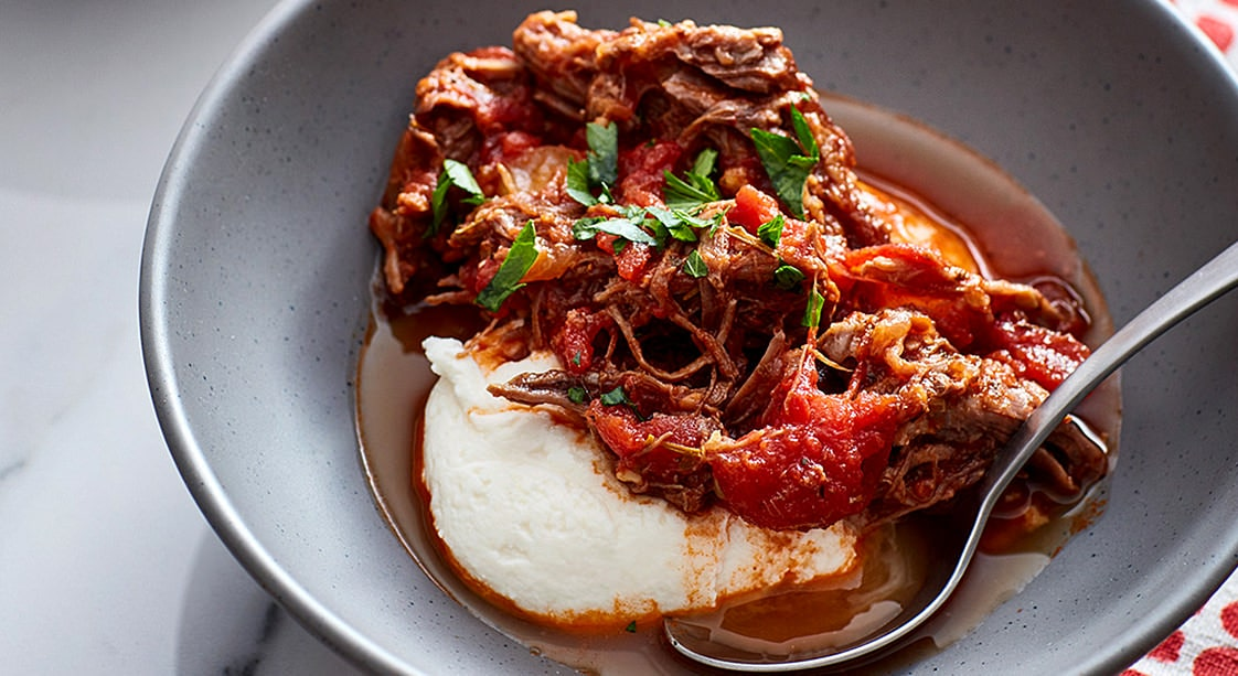 Instant Pot Italian Beef Ragu Recipe