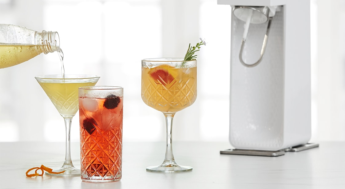 SodaStream Cocktails for Mother's Day