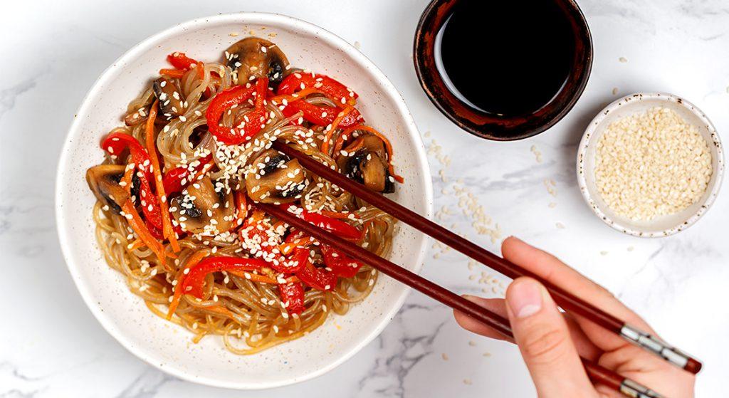 Korean Sweet Potato Noodles