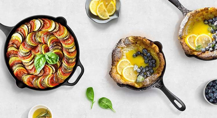 Healthy Cookware Cast Iron Victoria