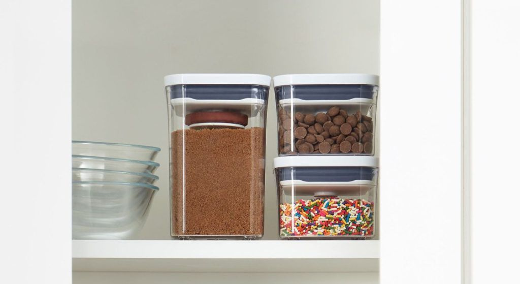 Pantry zones with Oxo