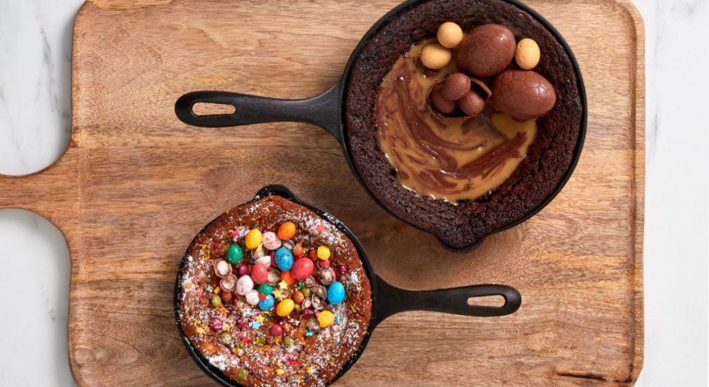 Easter Egg Dessert Skillets