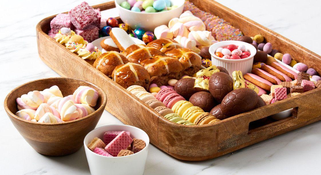 Easter Dessert Grazing Board