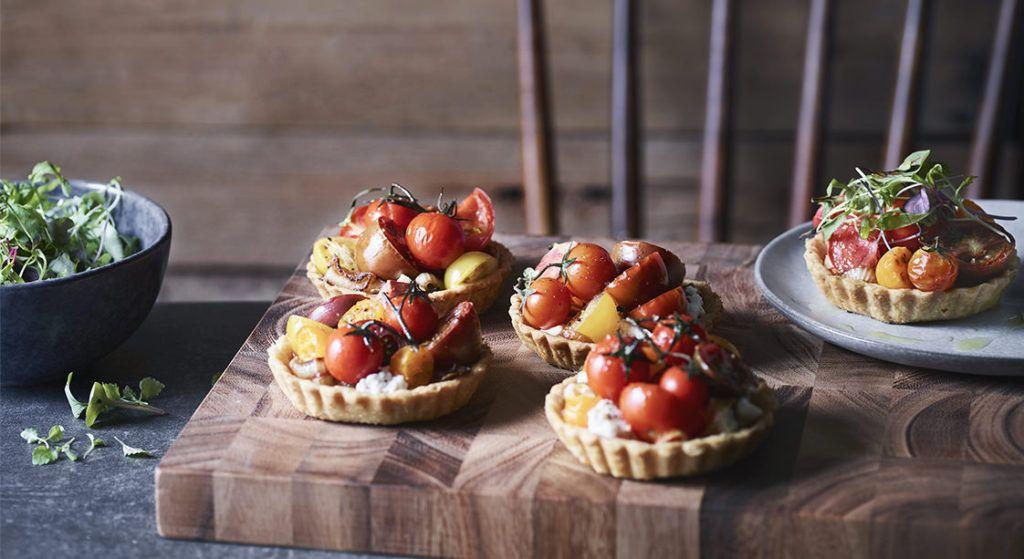 Rustic Tomato Tarts