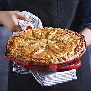 Cast Iron Masterclass + Chicken and Leek Pie Recipe