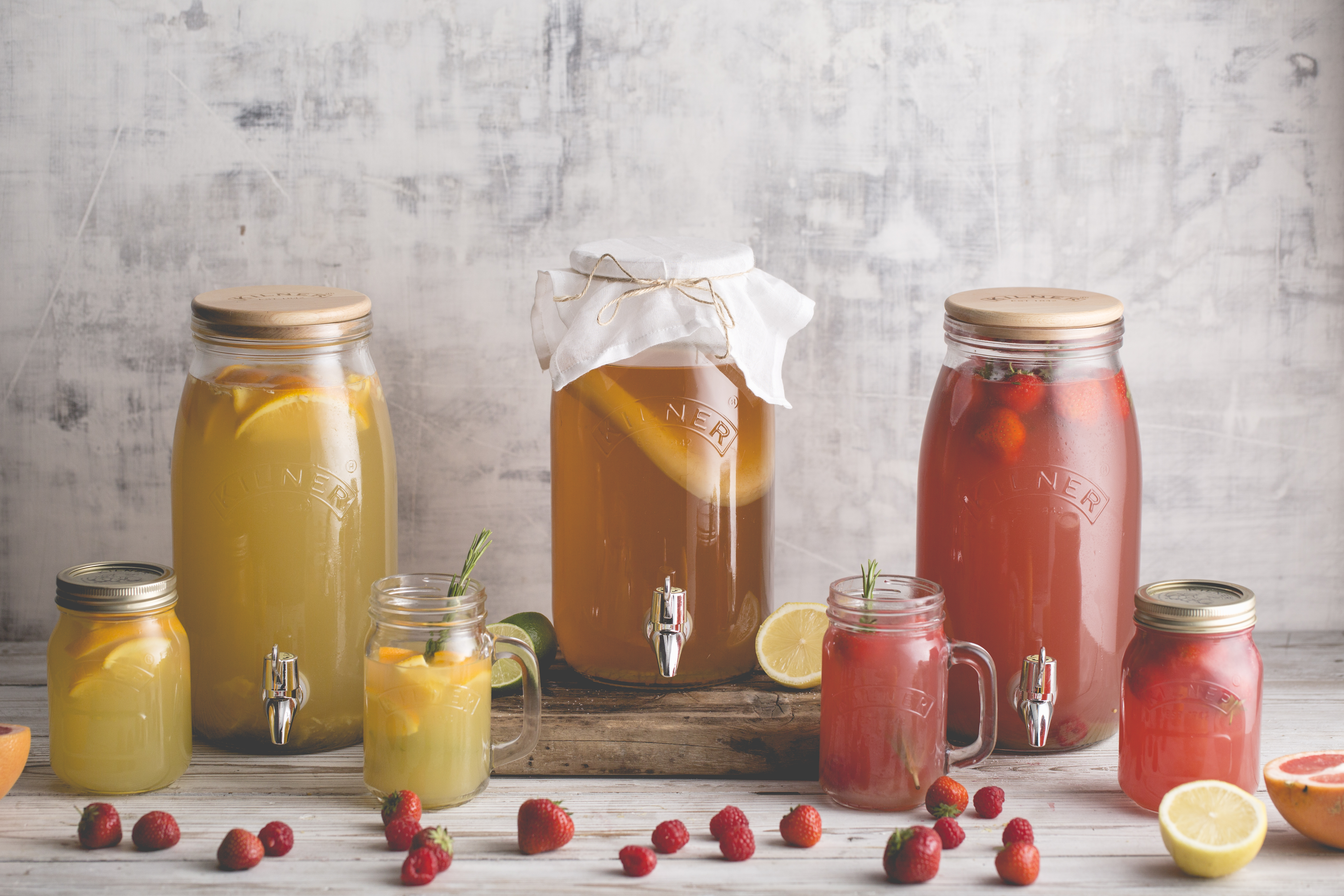Kilner Kombucha drinks making set