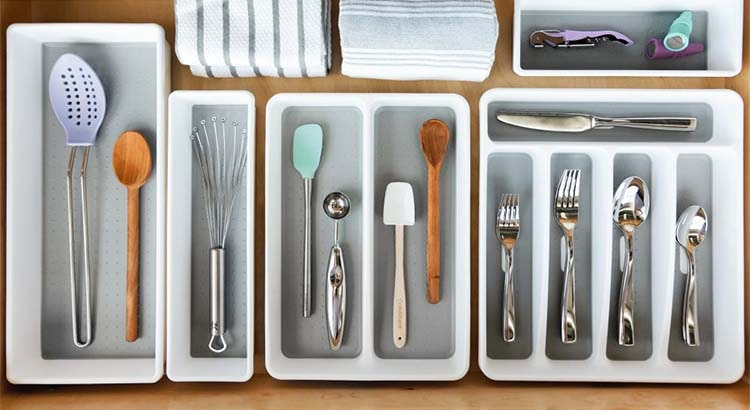 Decluttering Kitchen Drawers by Kate Flower