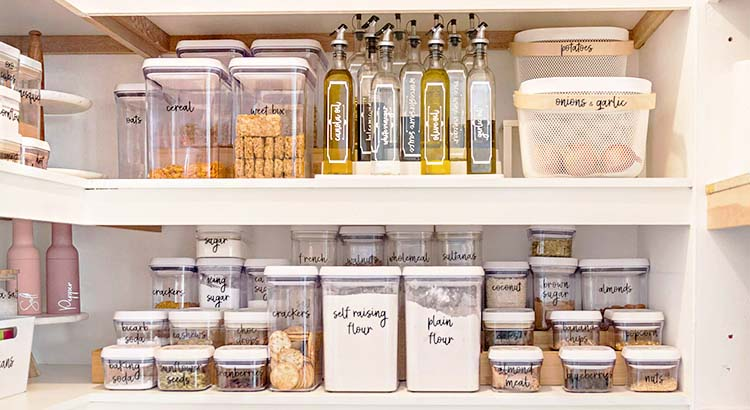 Finding Joy (and Peace) in an Organised Pantry