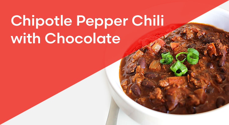 Chipotle Pepper Chilli with Chocolate