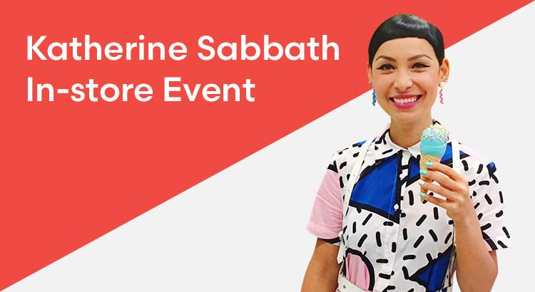 Katherine Sabbath InStore Event