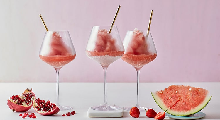 Watermelon and Strawberry Frose