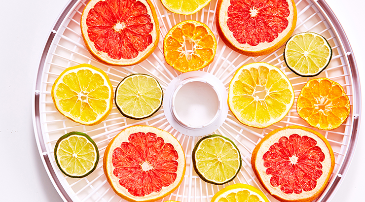 Top 8 dehydrated fruits and vegetables