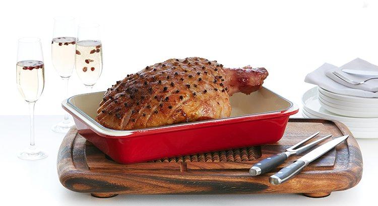 Baked Christmas ham