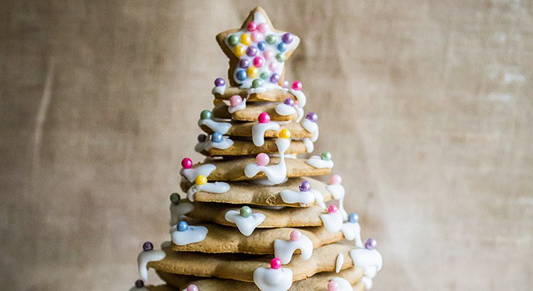 Gluten-free Gingerbread Christmas Tree