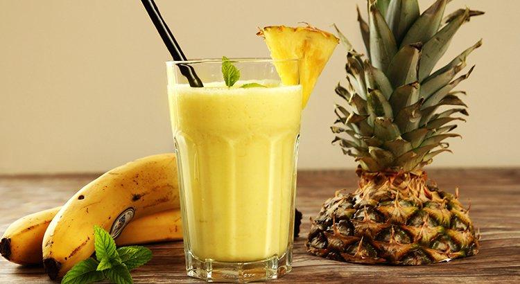 Refreshing summer smoothie