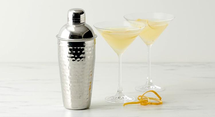 Lemon Drop Martini with Salisbury & Co Hemingway Cocktail Shaker