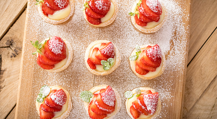 Mini Strawberry and Cream Tart Filling Recipe