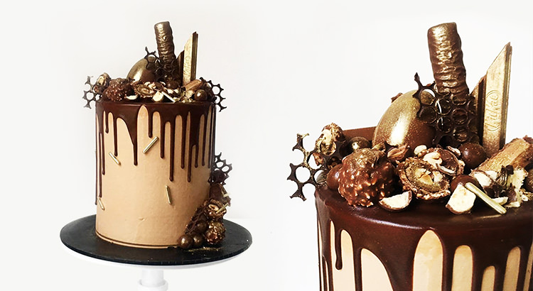 Emelia Jackson's Chocolate Drip Cake