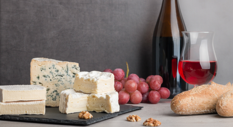 Cheese and wine paring