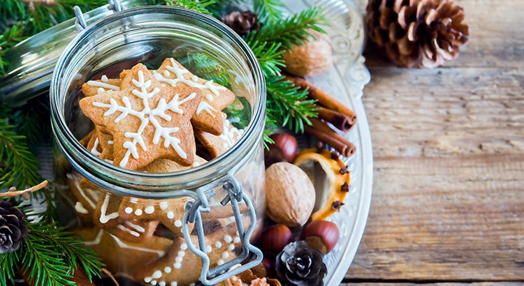 Christmas Food Gifts in Jars
