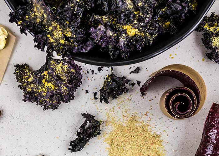 Dehydrator recipe savoury kale chips