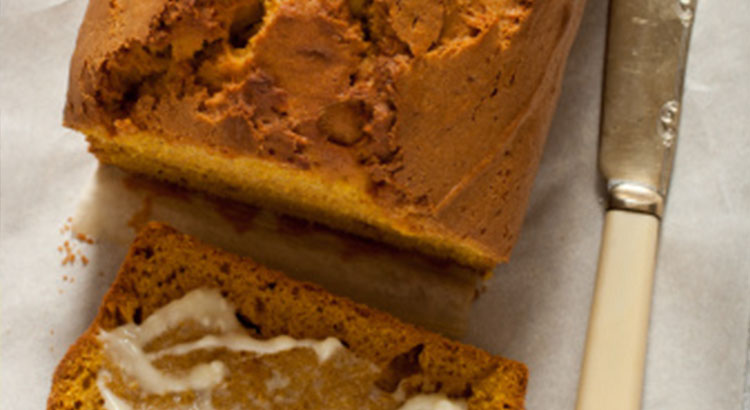 Fragrant Pumpkin bread