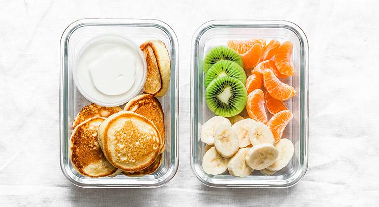 Freezer Lunch Box Ideas Pancakes