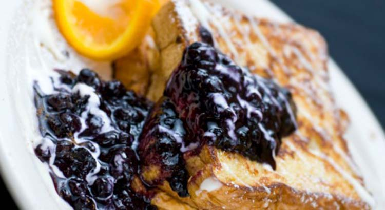 French Toast Blueberries