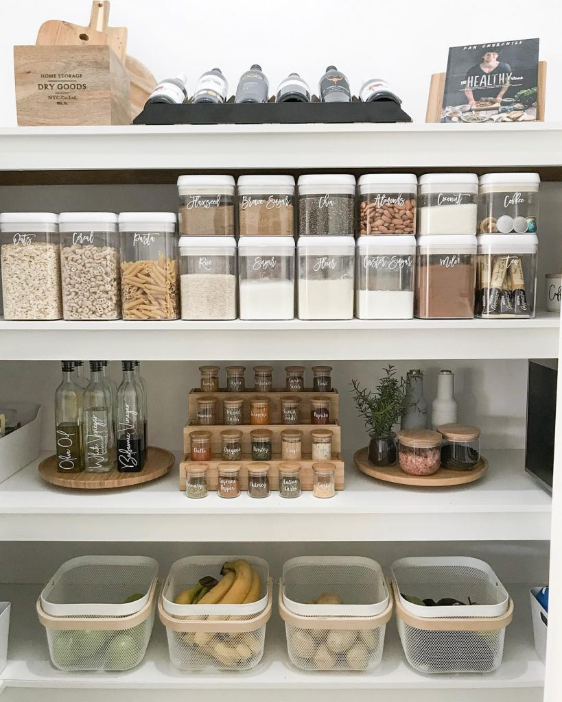 Full pantry storage shot by Styled by Fliss
