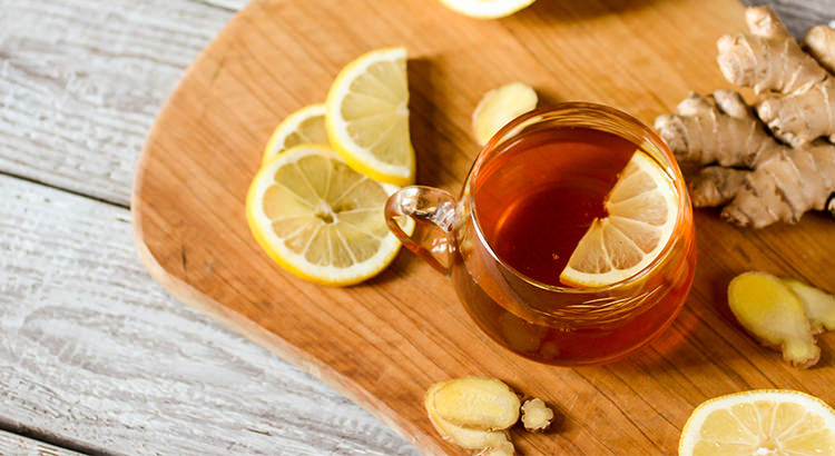 Ginger tea with honey and lemon by Fergo's Farm