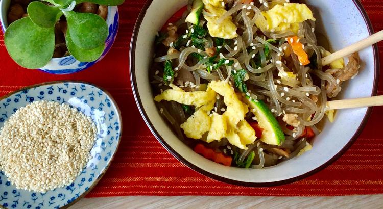 Korean Stir Fry Noodles Recipe