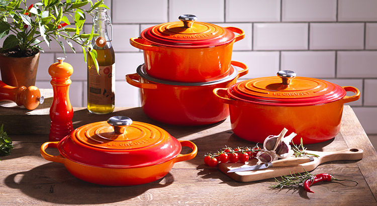 Healthy Cookware Enamelled Cast Iron Le Creuset