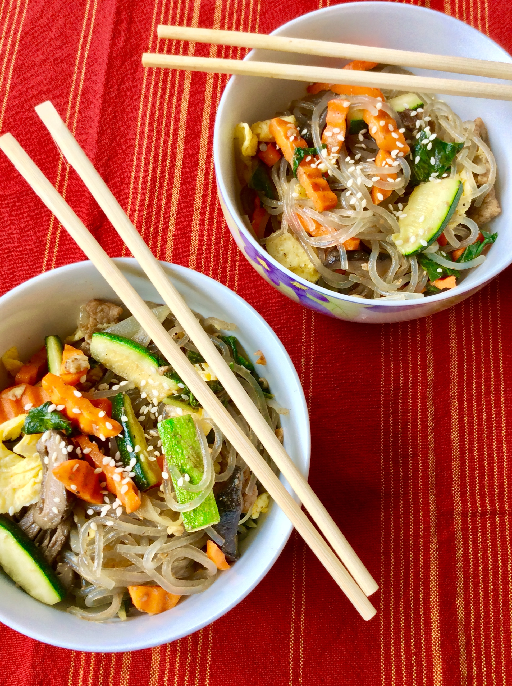 Korean Stir Fry Noodles Recipe