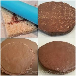 Step 3 Hamburger Cake