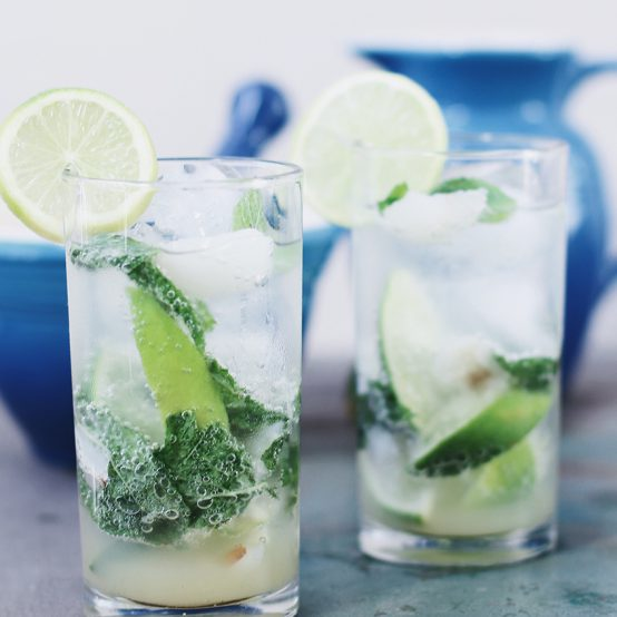 Lychee mojito by Le Creuset