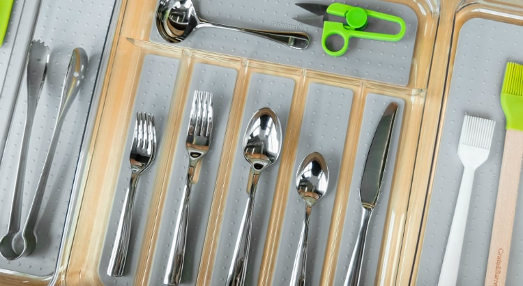 Madesmart clear large drawer organiser featured image