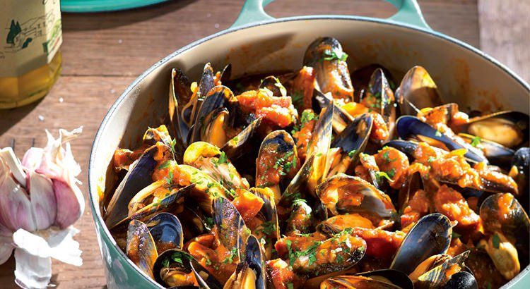 Mussels and Chorizo Stew