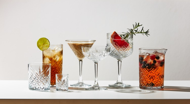 Pasabahce Timeless cocktail glasses