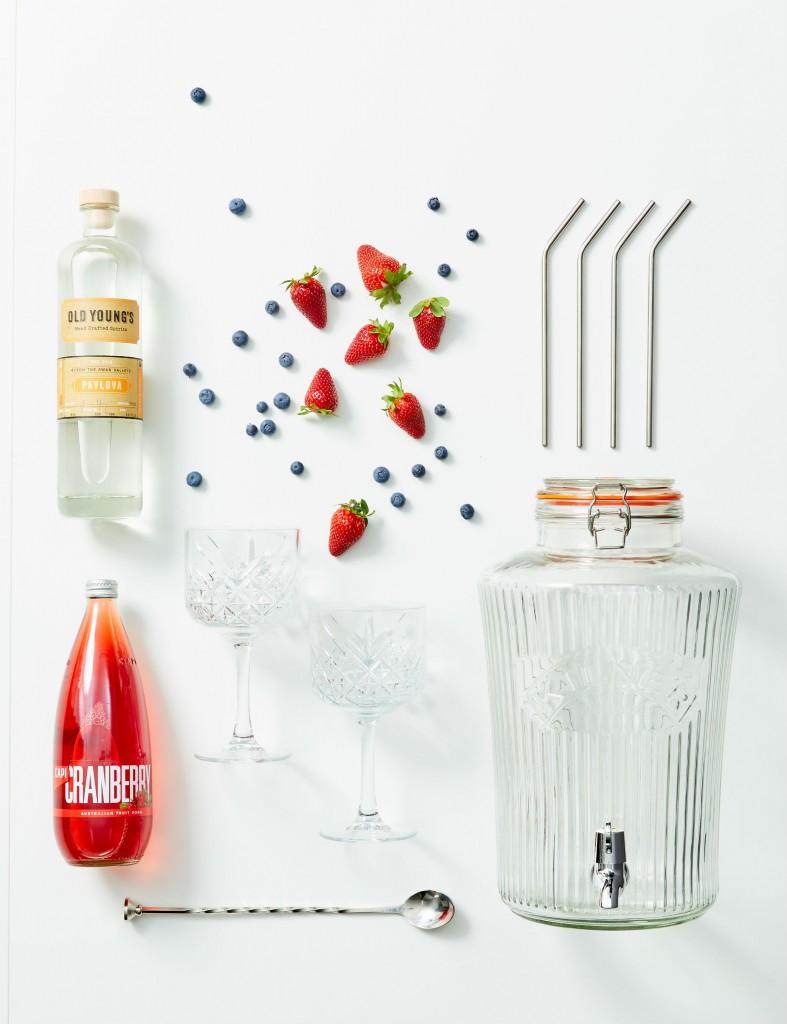 Pavlova Spritz Recipe Cocktail Kit Gift Idea