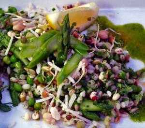 Pea-and-Asparagus-Wholegrain-Risotto