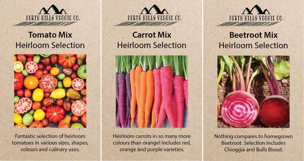 Perth Hiils Veggie Co heirloom seeds