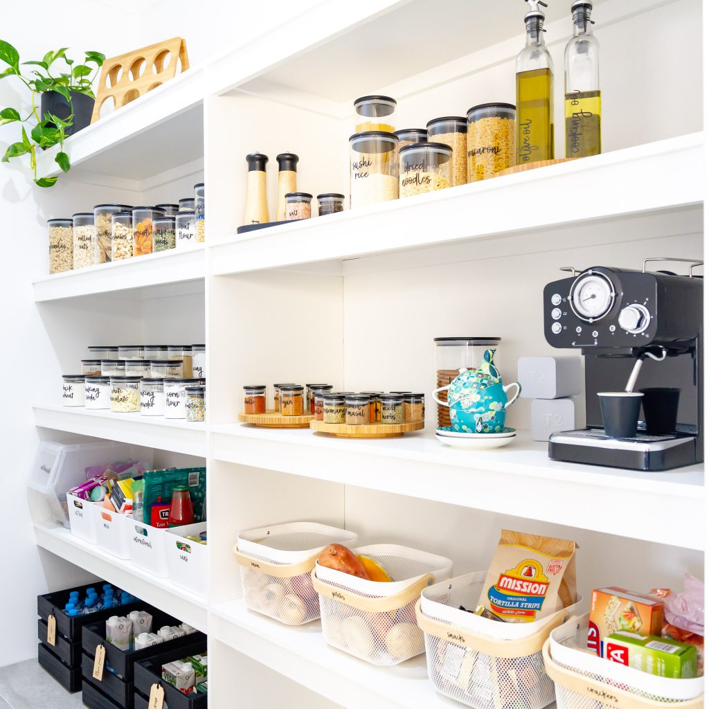 Pantry Organisation Ideas With Pretty Little Designs