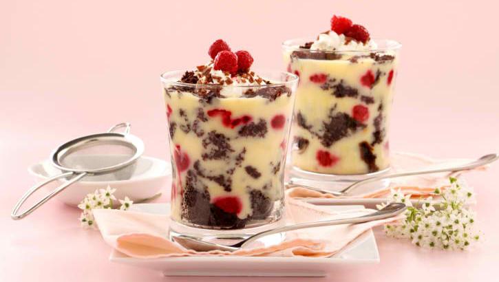 Raspberry-Trifle
