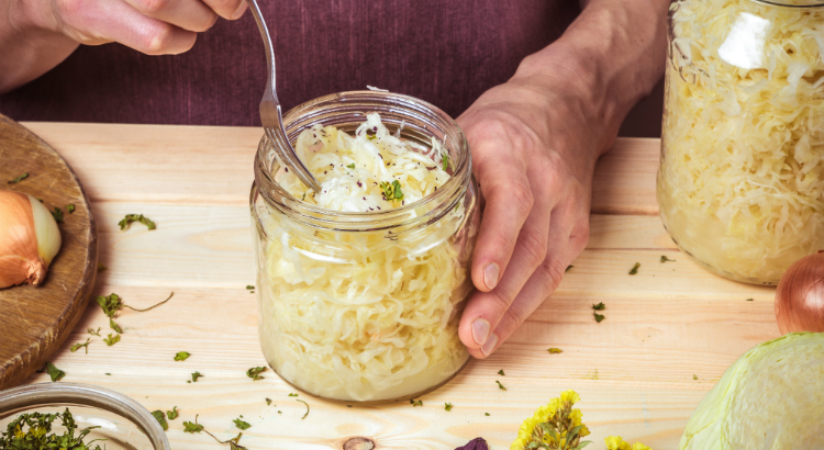 Sauerkraut recipe by Lisa Thornton