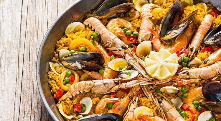 Seafood Paella with Garcima