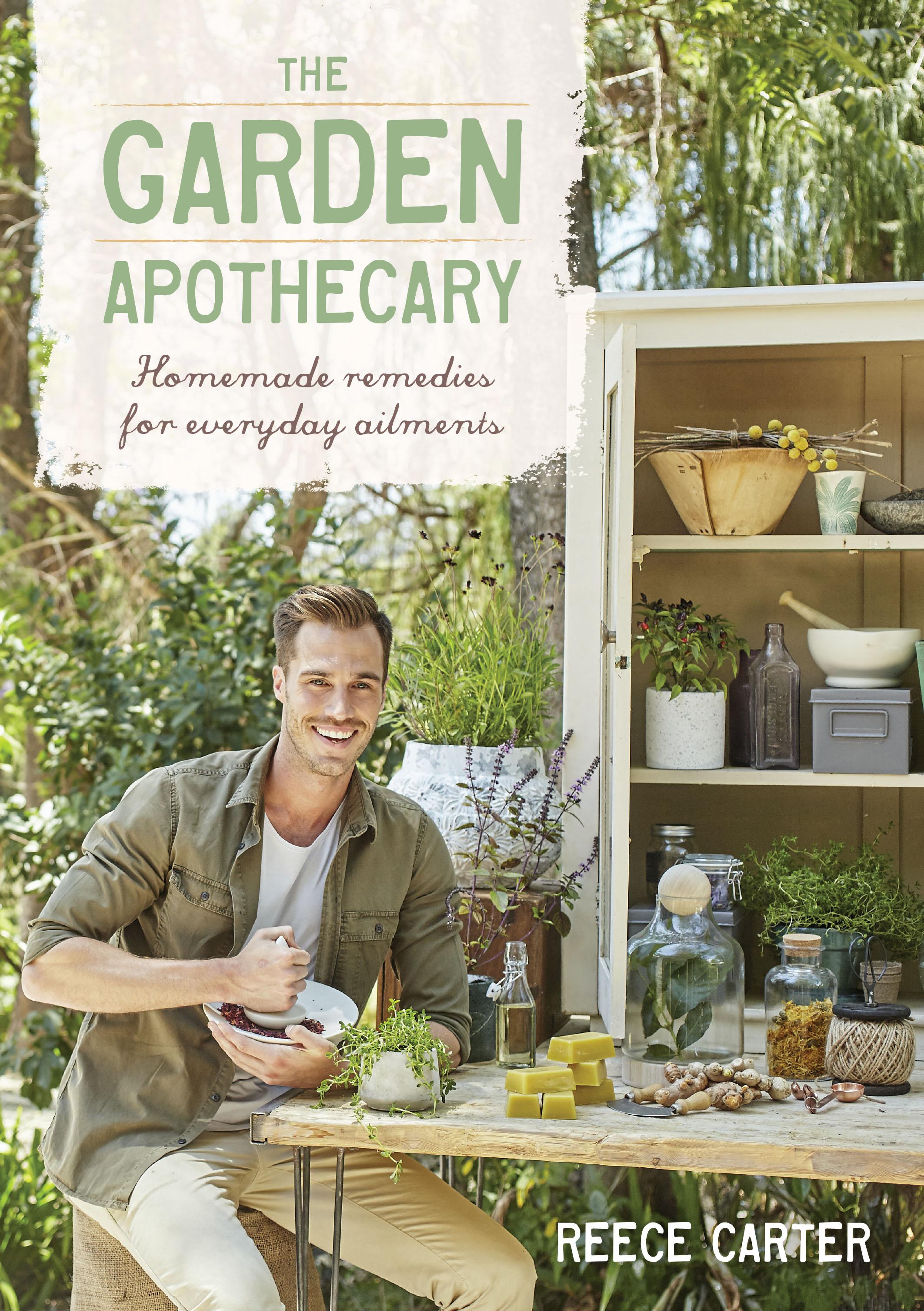 The Garden Apothecary - Book Cover