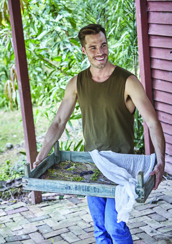 The Garden Apothecary by Reece Carter - How to Dry Herbs