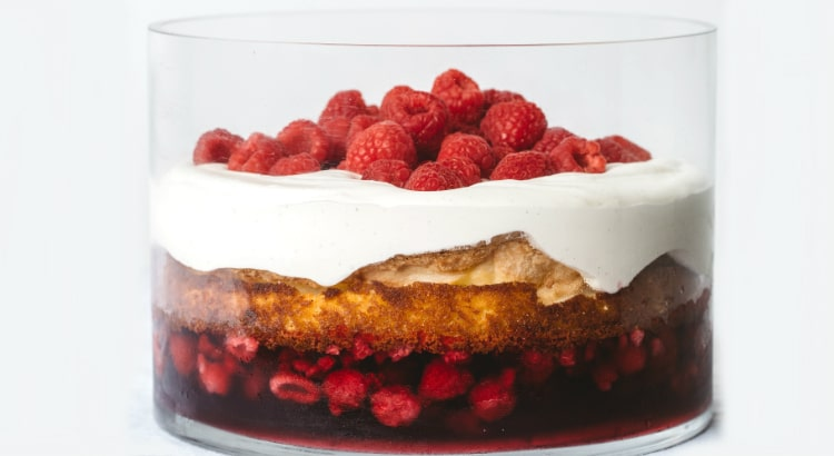 Trifle recipe by Charlotte Ree from Just Desserts