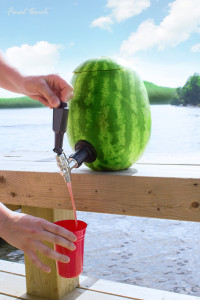Watermelon Keg no tap